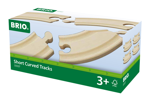 SHORT CURVED TRACKS