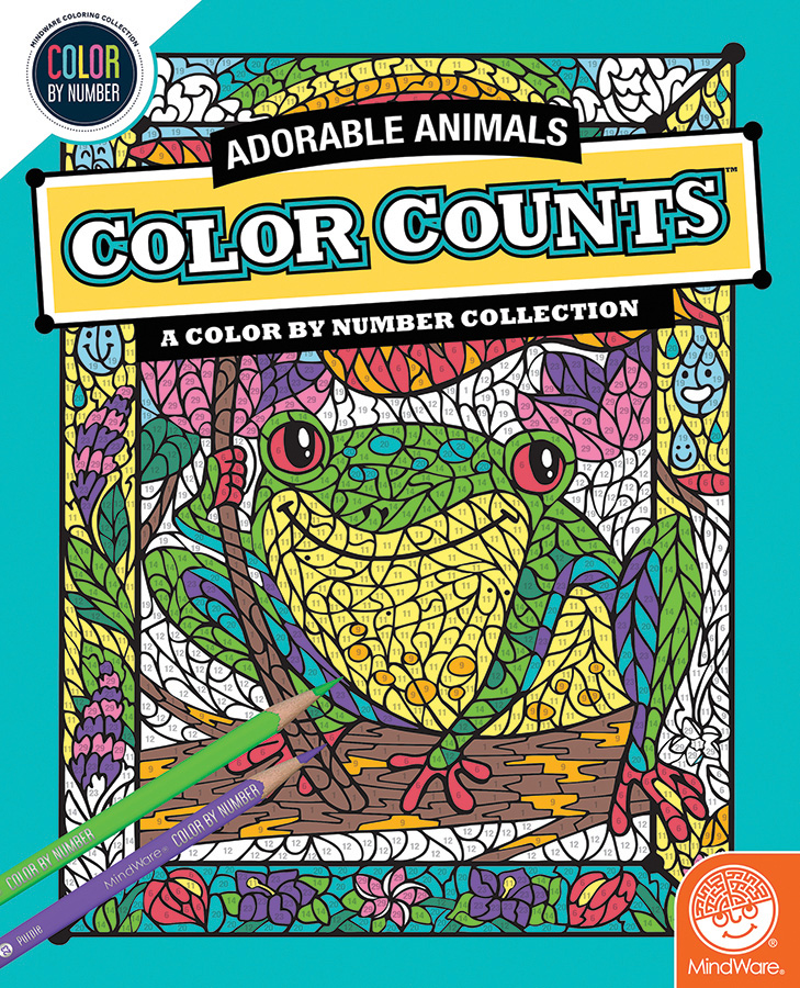 CBN COLOR COUNTS: ADORABLE ANIMALS