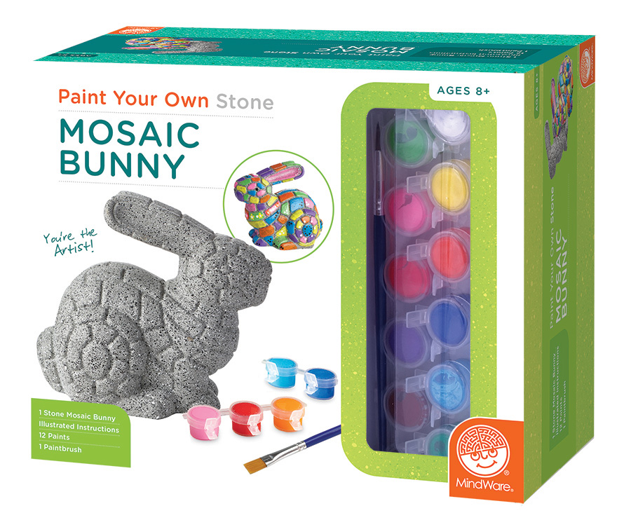PAINT YOUR OWN STONE BUNNY