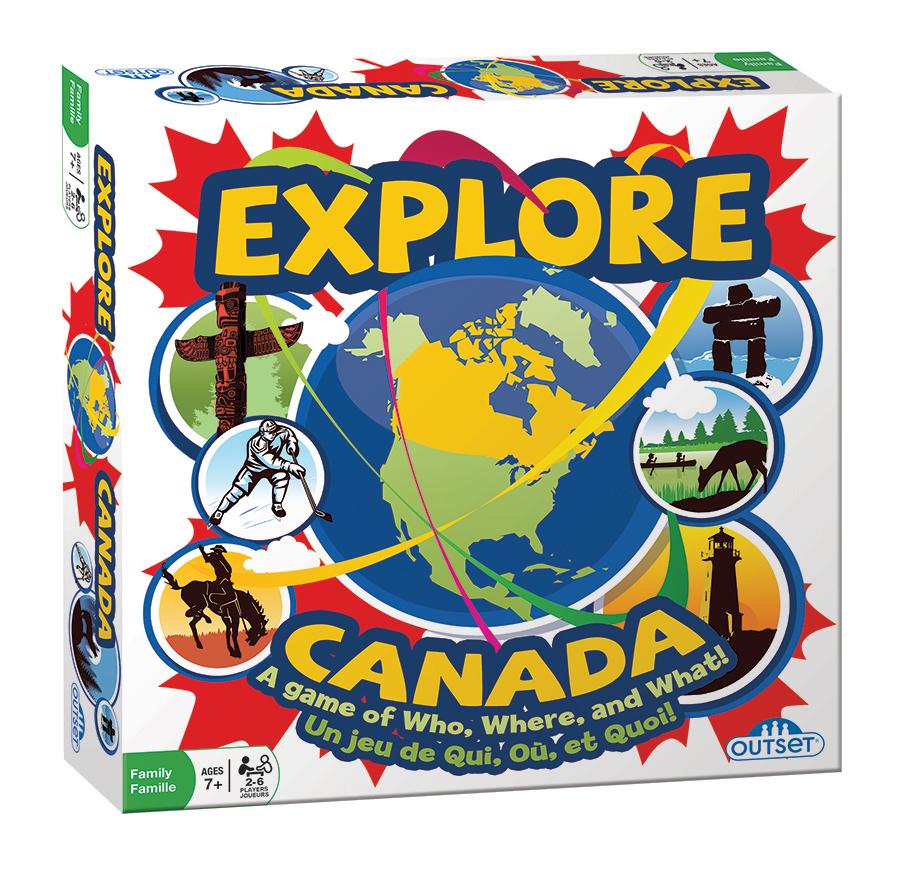 EXPLORE CANADA (BILINGUAL)